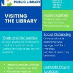 Library reopening April 1